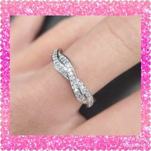 💥💥FLASH SALE💥💥❤925S Silver Twisted Ring 1Pc❤
